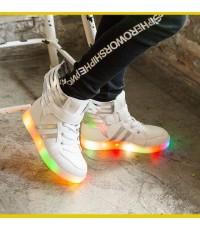 รองเท้า LED