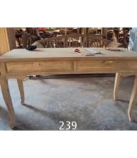 โต๊ะทำงานไม้สัก