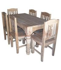 โต๊ะอาหารไม้สัก