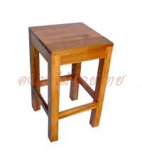 เก้าอี้หัวเหลี่ยมไม้สัก