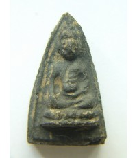 พระพุทโธน้อย องค์ที่ 34 คุณแม่บุญเรือน วัดอาวุธ  ปี2494 พิมพ์เล็ก  เนื้อผงใบลาน หายาก