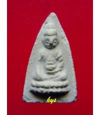 พระพุทโธน้อย องค์ที่ 137 คุณแม่บุญเรือน ปี2494 พิมพ์เล็ก หน้าตุ๊กตาไหล่จุด สวยนิยม