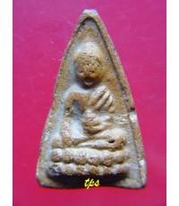 พระพุทโธน้อย องค์ที่ 186 คุณแม่บุญเรือน พิมพ์ใหญ่  หลังยันต์เฑาะว์ หายาก (3)