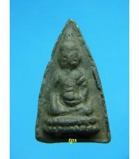 พระพุทโธน้อย องค์ที่383 พิมพ์เล็กหน้าตุ๊กตา เนื้อใบลาน สวยครับ
