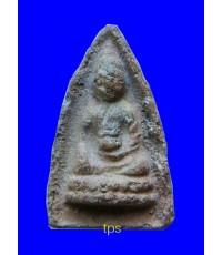 พระพุทโธน้อยปี2494 องค์ที่566 พิมพ์เล็กกรอบกระจก เนื้อดินเผา นิยมครับ