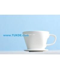 แก้วดริปกาแฟ เซรามิค 2-4 cups Ceramic Coffee Dripper coffee makers Pour Over Drip Pour Over Drip แก้