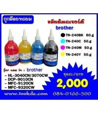 วิธีเติมหมึก broher TN-240BK/C/M/Y