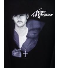 เสื้อทัวร์ เสื้อวง Vintage 98 TIM MCGRAW COUNTRY TOUR CONCERT T- SHIRT XL
