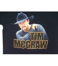 เสื้อยืดทัวร์ เสื้อวง VINTAGE 2000 TIM MCGRAW COUNTRY TOUR CONCERT T- SHIRT size L