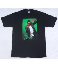 เสื้อยืดทัวร์ เสื้อวง Vintage JAY PEREZ TOUR CONCERT T- SHIRT size L