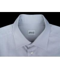 เสื้อเชิ้ต ARMANI COLLEZIONI Italy shirt used designer แบรนด์เนมมือสองทำงานผู้ชายของแท้ 16-35