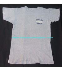 เสื้อยืดมือสองเนื้อทราย VTG 80 CONANT COUGARS CHAMPION TAG T-SHIRT size XL