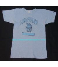 เสื้อยืดมือสองเนื้อทราย Vtg 80 LONGFELLOW CHAMPION TAG Cool T-Shirt M