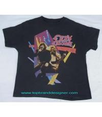 เสื้อทัวร์คอนเสิร์ตวงร์อค Vintage 1992 OZZY OZBOURNE Rock tour concert t-shirt XL