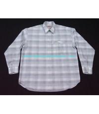 เสื้อเชิ้ต PANCALDI B France shirt used designer แบรนด์เนมมือสองลำลองชายของแท้จากฝรังเศส 4