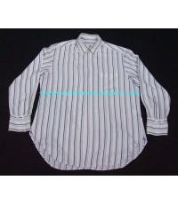 เสื้อเชิ้ตผ้าเรยอน Ys Yohji Yamamoto rayon shin strap shirt used designer แบรนด์เนมมือสองชายของแท้ M