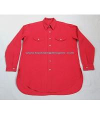 เสื้อเชิ้ต Ys for men Yohji Yamamoto shirt used designer แบรนด์เนมมือสองลำลองชายของแท้ M