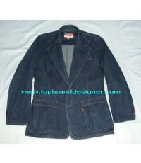 แจ๊คเก็ตยีนส์ลีวายส์ LEVI\'S orange tab USA Denim Jeans Blazer Jacket 40