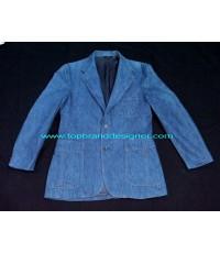 แจ๊คเก็ตยีนส์ลีวายส์ LEVI\'S PANATELA Denim Jeans Blazer Jacket made in USA 40R