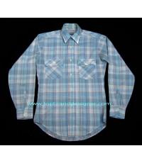เสื้อลีวายส์ Vintage 80s Levi\'s USA Cowboy Western Work Shirt S