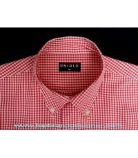 เสื้อเชิ้ต UNIQLO gingham shirt Used Designer Clothes แบรนด์เนมมือสองของแท้ M