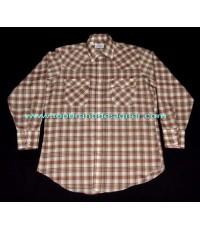 เสื้อกระดุมมุกหินขัดลีวายส์ Vintage 70s Levi\'s USA made mineral stone snap men western shirt plaid