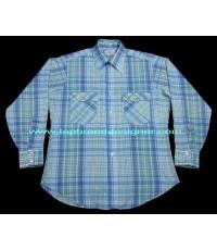 เสื้อลีวายส์ป้ายขาว Vintage 70s Levi\'s White Tab USA Cowboy Western Work Shirt L(SOLD)