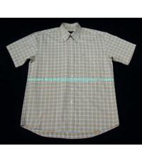เสื้อเชิ้ต PLAYBOY Shirt Used Designer Clothes แบรนด์เนมมือสองของแท้บุรุษ L