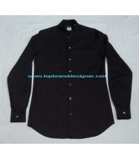 เสื้อผ้าเรยอง GIORGIO ARMANI Black Label Italy Shirt Used Designer อาร์มานี่แท้แบรนด์เนมมือสอง 15