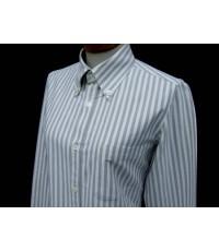 เสื้อเชิ้ตผู้หญิง A.P.C. APC Women Shirt Used Designer เสื้อแบรนด์เนมมือสองของแท้ 36