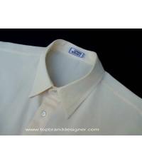 เสื้อเวอร์ซาเช่ Gianni Versace Cream Men Used Designer Shirt Italy Made 50