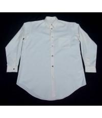 เสื้อแบรนด์เนม Yohji Yamamoto White Cotton Men Used Designer Shirt M