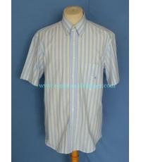 เสื้อเชิ้ต RODRIGO Italy Men Used Designer Shirt Stripes L