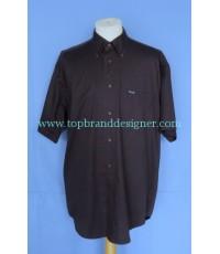 เสื้อเชิ้ต Faconnable Men Used Designer Shirt Navy Blue L/G