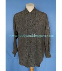เสื้อผ้าเรยอน RYKIEL HOMME France Rayon Men Used Designer Shirt Floral Print S