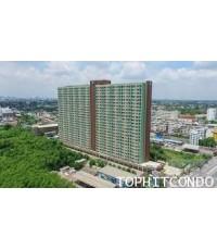 คอนโด Lumpini Place บรมราชชนนี - ปิ่นเกล้า ให้เช่าห้องแบบ 1 ห้องนอน ขนาด 32 ตร.ม. ชั้น 8 ทิศตะวันออก
