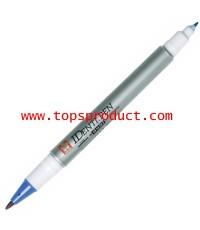 ปากกามาร์คเกอร์ 2 หัว น้ำเงิน 44102 ซากุระ XYK-T
