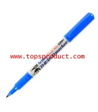 ปากกาเขียนแผ่นซีดี 2 หัว น้ำเงิน อาร์ทไลน์ EK-841T