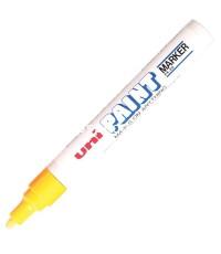 ปากกาเพ้นท์ 2.2-2.8 มม. เหลือง ยูนิ PX-20
