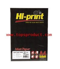 กระดาษอิงค์เจ็ทไฮปริ้นท์ HI-JET 130 แกรม