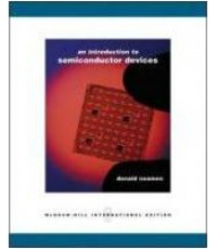 An Introduction to SEMICONDUCTOR device ISBN 9780071116275