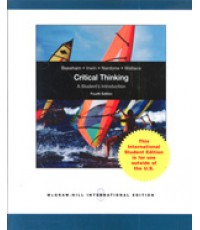 Critical Thinking A Students Introduction 4e ISBN9780071081153