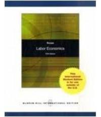 Labor Economics 5ED Y2010 ISBN 9780071270274