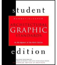 Architectural Graphic Standards Student , 9th Edition,  ISBN  9780471348177