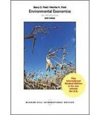 Environmental Economics : an introduction  ISBN  9780071326278