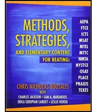 Methods, Strategies and Elementary Content for Beating  6 edition  ISBN 9780205425600