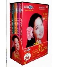 Boxset DVD คาราโอเกะราชินีเพลงจีนเติ้งลี่จวิน 5 แผ่น (ของแท้)