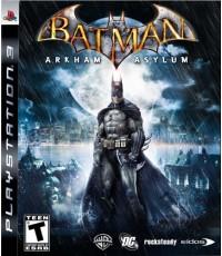 PS3 : BATMAN ARKHAM ASYLUM  [USED] [ENGLISH] [ZONE 3] [A] [1]