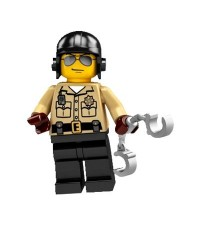LEGO : MINI FIGURE SERIES 2 : TRAFFIC POLICEMAN [SOLD OUT]
