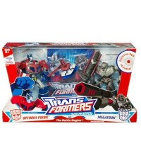 TRANSFOMER ANMATED : DX OPTIMUS VS DX MEGATRON กล่องคู่พิเศษ The Battle Begin [SOLD OUT]